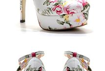 Shoes to die for. / I'm a lover of heels.