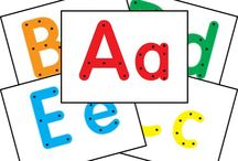 Alphabet and Literacy - K & 1 / Writing and alphabet teaching ideas for the first year/s of school