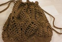 Bolsas de crochê / inspiração