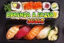 Receitas como fazer sushi
