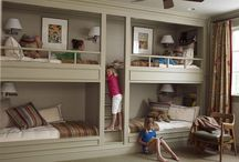 Childrens Bedrooms / Great kids bedrooms, bunk beds, furniture and spaces with imagination / by Design Library AU - Interior Design & Renovation