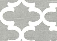 Bridesmaid Tote Fabric - Quatrefoil / choices in quatrefoil fabric for bridesmaid totes.