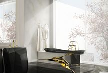 Luxury Bathtub Ideas / The best bathtub designs for any luxury bathroom. Discover more about Memoir inspirations at http://memoir.pt/inspirations/