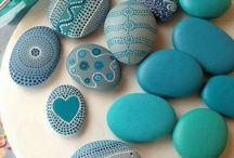 maalatut kivet