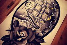 Zeichnungen und tattoos haben immer etwas zu bedeuten / Life Change