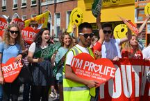 Rally for Life Dublin 2015 / Up to 30,000 people marched for life on Saturday, 4th July 2015 through Dublin City Centre