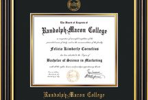 Randolph-Macon College Diploma Frames & Graduation Gifts! / Official RMC Diploma frames. Exquisitely crafted to exacting specifications for the RMC diploma. Custom framed using hardwood mouldings and all archival materials, including UV glass to prevent fading from sunlight AND indoor incandescent lighting! Each frame exceeds Library of Congress standards for document preservation and includes a 100% lifetime guarantee, ensuring that a hard-earned achievement will be honored and protected for generations. Makes a thoughtful and unique graduation gift!