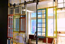 Creative Reuse: Window & Shutter / Creative Reuse projects submitted to the ReBuilding Center. If you have a project of your own and would like to send in a photo for a 10% off your next purchase coupon, email reuse@rebuildingcenter.org* or tag #rebuildingcenter on an Instagram picture of your project!  *Limited to one discount per year