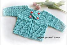 grønhæklet trøje2