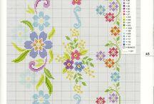 Lovely Cross Stitches / kanaviçe- goblen- etamin-diy- cross stitch