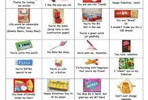 candy wordings