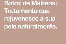 Botox caseiro