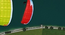 Gift Certificates / Buy gift certificates to tandem paragliding flights, solo paragliding lessons, &/or paragliding equipment