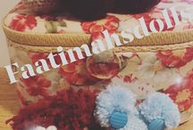 Crochet keychains I made❤️