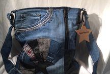 из джинсовой ткани