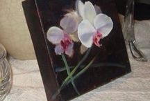 Art- my floral paintings ... / by Wanda Caro