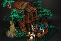 LEGO landskab