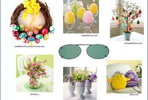Easter Home Decor & Solar Shield / Easter Home decor & SolarfShield clipons