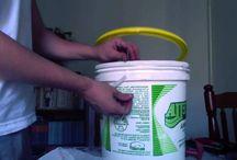 como fazer minhocario de baldes