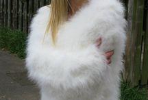 Mohair-Angora / Fuzzy clothing