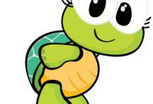 (Teknős) Békák