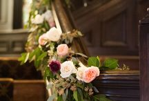 Wedding stairs/bannister