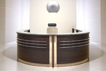 FLASH modular reception counter / FLASH modular reception counters, available in many different conections of colours.