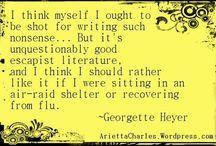 Georgette Heyer, Queen of the Regency