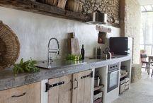 Letná kuchyňa