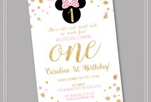 Pink & Gold Minnie Party