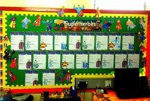 super hero theme / by Jessie Fishel