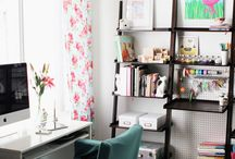 Craft Rooms & Lady Caves / Feminine and creative spaces