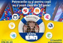 Căsuța EMA / Loc de joacă pentru copii