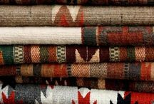 Native American Blankets / A gallery of blankets or items made with blankets that are either made by Native American Indians or were inspired by their culture. Sometimes referred to as Indian blankets.