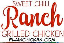 Ranch chilli chickens