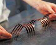 Travail du chocolat / Tuiles / Caramel