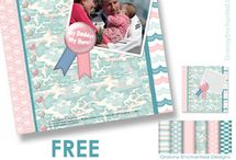 free digital quick page scrapbooking