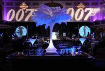 Themed Bar Mitzvah ideas / James Bond, graffiti, music, streetstyle, casino royal,