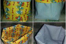 cestini stoffa porta tutto