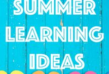 Sharpen the Saw--Summer Learning Activities