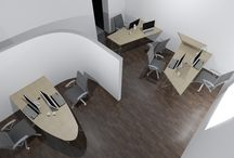 Office visualization / Studio Cermak drew us creative proposal of our new offices.