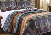 Rustic  & Lodge Quilt Collections