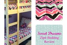 Zipit Bedding Features