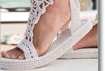 Papuci / Tricotaje