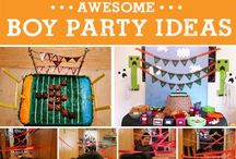 Boy party ideas and printables