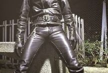 Teenboys in leather