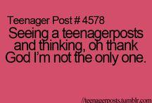 teenager posts