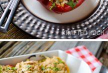Rice Bowl / Recipes using rice