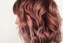Hair Rosé Gold