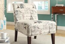 Accent Chairs / Accent chairs can be placed in any room for added seating for guest or even just to have a conversation area.